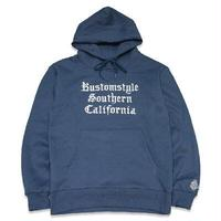 "KUSTOMSTYLE ""FUCKA"" PULLOVER HOODIE AIR FORCE BLUE"