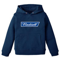 RADIALL  BLUE FLAG - KID'S PULLOVER PARKA NAVY