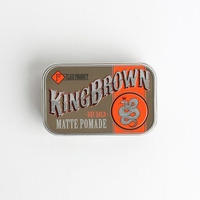 KING BROWN MATT POMADE