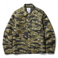 CRIMIE BACK SATAIN THINSULATE CAMO COVER ALL JACKET