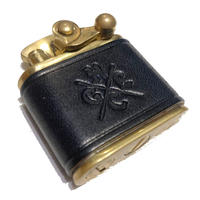 HARDEE×GARNET LEATHER OIL LIGHTER NAVY