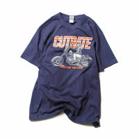 CUTRATE BIKE T-SHIRT NAVY