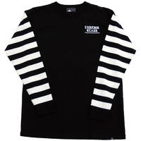 LURKING CLASS CHEESE BORDER L/S TEE