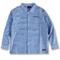 "KUSTOMSTYLE ""SUAVE NIGHT"" CHAMBRAY LS SHIRTS"