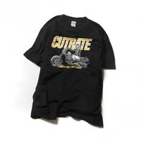 CUTRATE BIKE T-SHIRT BLACK