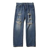 CUT RATE USED DENIM PANTS USED INDIGO BLUE CR-17SS025