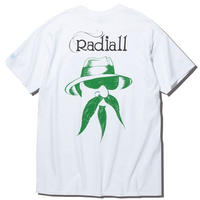 RADIALL × 4D7S   JOINT - CREW NECK T-SHIRT S/S WHT