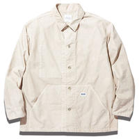 RADIALL DOWN HILL - ENGINEER JACKET WHITE
