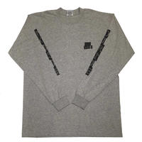 HARDEE THE NOISE L/S TEE GRAY
