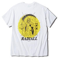RADIALL     HOUR GLASS - CREW NECK T-SHIRT S/S  WHT