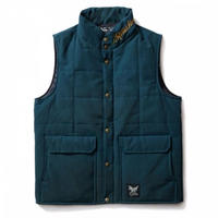 SOFTMACHINE ENFOLD VEST NAVY