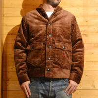 CORDUROY SHAWL COLLAR JACKET BROWN