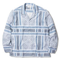 RADIALL  MONTE CARLO - OPEN COLLARED SHIRT L/S   Snow White