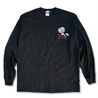 "KUSTOMSTYLE ""PARADISE CITY"" LONG SLEVE TEE BLACK"