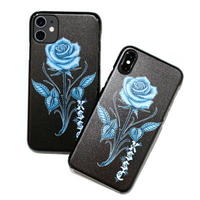"""KUSTOMSTYLE IPHONE HARD PROTECTOR """"ROSE"""" for 11/X,XS"""