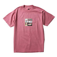 BORN X RAISED PARTYSQUARE TEE ROSE