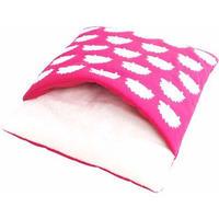 レインボー もぐって寝袋 ピンク