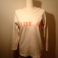 USED NINE SLEEVE T(HADOU)BLUE PORT
