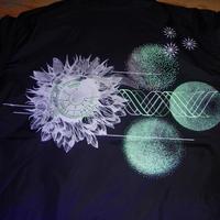 Virus&Glowing Flower  ウィルスと光る花