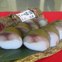 脂ののった鯖・酢飯・龍皮昆布の美味三位一体! 極上鯖棒すし
