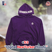 Digital NewYorker Hoody(PURPLE)