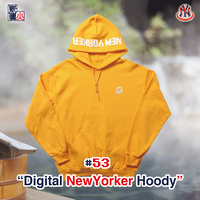 Digital NewYorker Hoody(YELLOW)