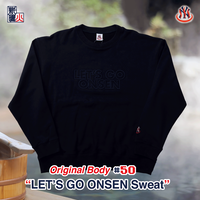 LET'S GO ONSEN OriginalBody Sweat(NAVY)