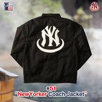 NewYorker Tsubushi CoachJacket(Black)