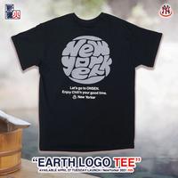 EARTH LOGO S/S TEE -black-
