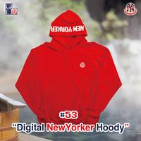 Digital NewYorker Hoody(RED)