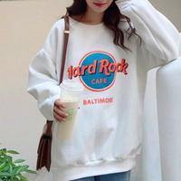 Hard Rock Cafeロゴトレーナー