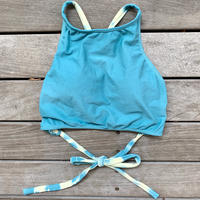 KPS Swimsuits x HSP Crop Top Emerald(1色染め)