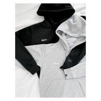 Hello Dry Jogger Hoodie〜Light Gray/Black