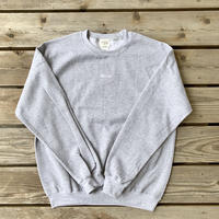 Hello Crew Neck Gray
