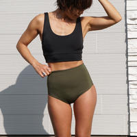 Brave Green High Waist Set