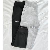 Hello Dry Jogger Pants〜Light Gray/Black