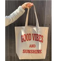 Good Vibes キャンバストートバッグ