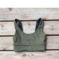 Brave Green Bikini Tops