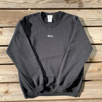 HELLO Crew Neck Black