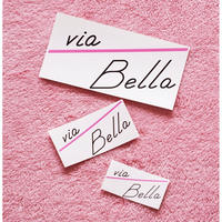 Via Bella Sticker set