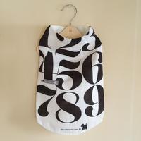 MonChien+オリジナルワンコ服 タイポグラフィ