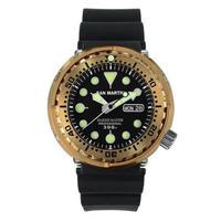 San Martin  自動巻腕時計メンズ ブロンズ ビッグバン ツナ缶 47mm 300m防水 1012