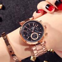 GUOU 高級カジュアルウォッチ ブレスレットカレンダー腕時計 レディースウォッチ ジュエリーウォッチ / カルティエ エルメス お好きな方に