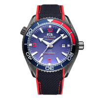 PAULAREIS WATCH /Black Red Blue