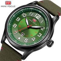 MINIFOCUS トップブランド クォーツ時計腕時計