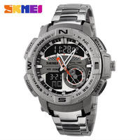 Skmei スポーツ腕時計 デジタルクォーツ腕時計 防水 アラームクロノストップウォッチ バックライト