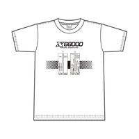 X68000 Tシャツ「FRONT/REAR VIEW」XXLサイズ