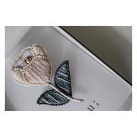 acou; フランスオートクチュール刺繍 の peche