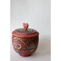 稲積佳谷 鳥の陶箱