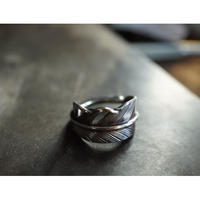 feather ring narrow 【cast】